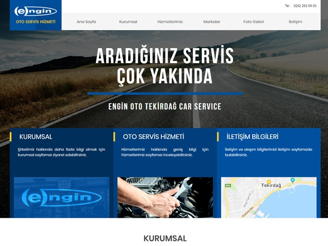 Engİn Oto Web Sİtesİ