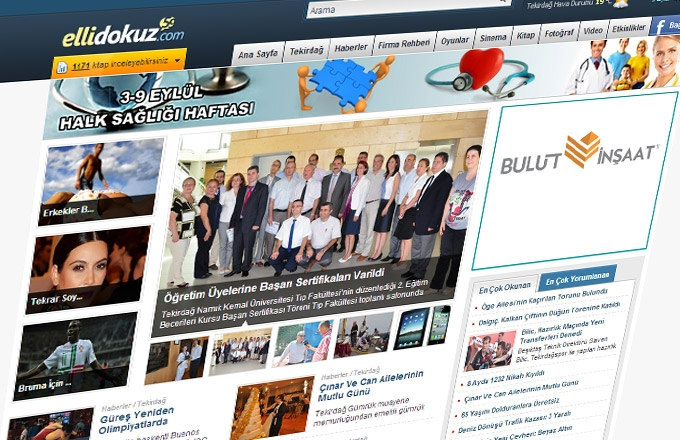 Ellİdokuz.com Web Sİtesİ