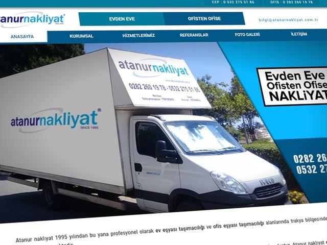 Atanur Naklİyat Web Sİtesİ