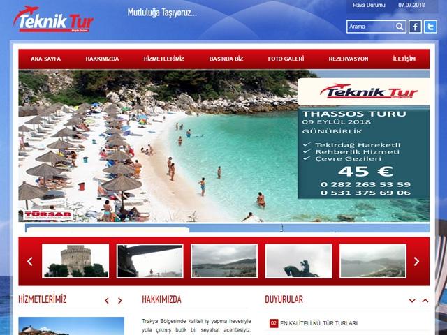 Teknİk Tur Web Sİtesİ