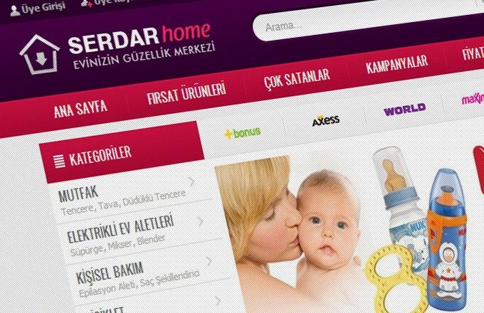 Serdar Home Web Sİtesİ