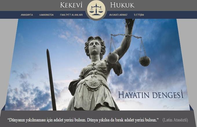 Kekevİ Av. Web Sİtesİ