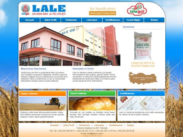 Lale Un Web Sİtesİ