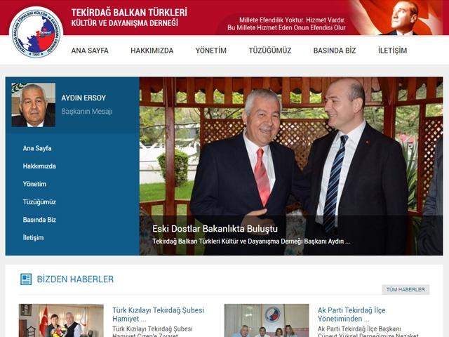 Balkan TÜrklerİ DerneĞİ Web Sİtesİ